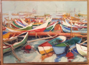 Boats of Aveiro